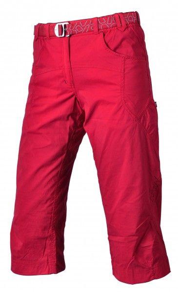 3/4 dámské kalhoty Warmpeace Flex Red rose