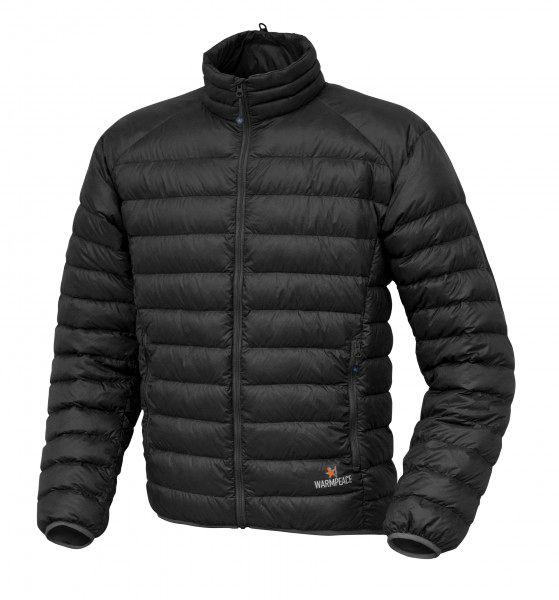 Warmpeace Drake péřová bunda black