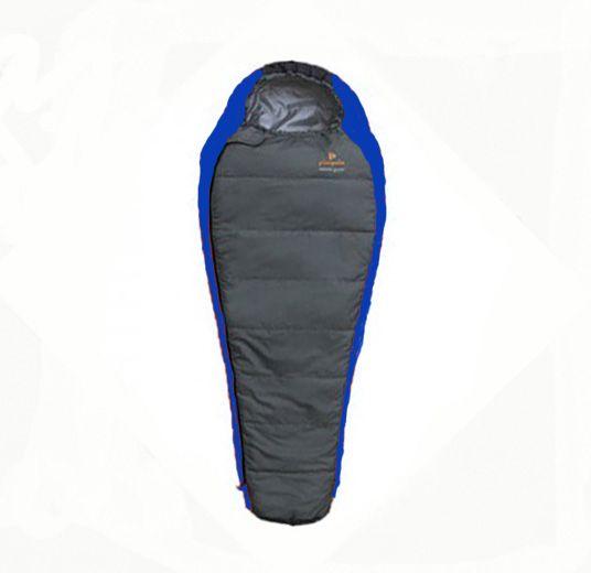 Spacák Pinguin Comfort Junior modrý 150L