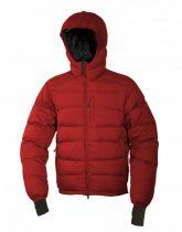 Warmpeace Ascent bunda péřová červená
