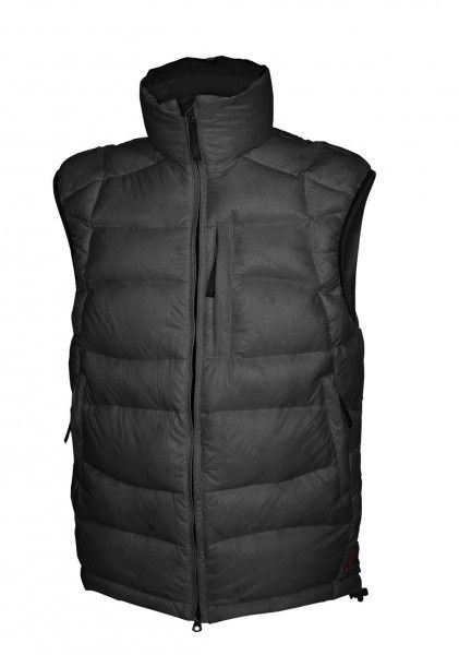 Warmpeace Ascent vesta péřová z materiálu Nylon DWR černá