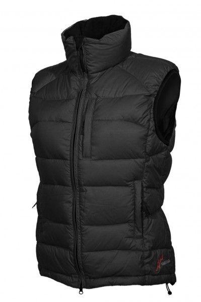 Warmpeace Planet lady péřová vesta black