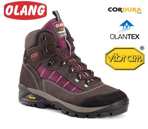 Treková obuv Olang Tarvisio Burgundy