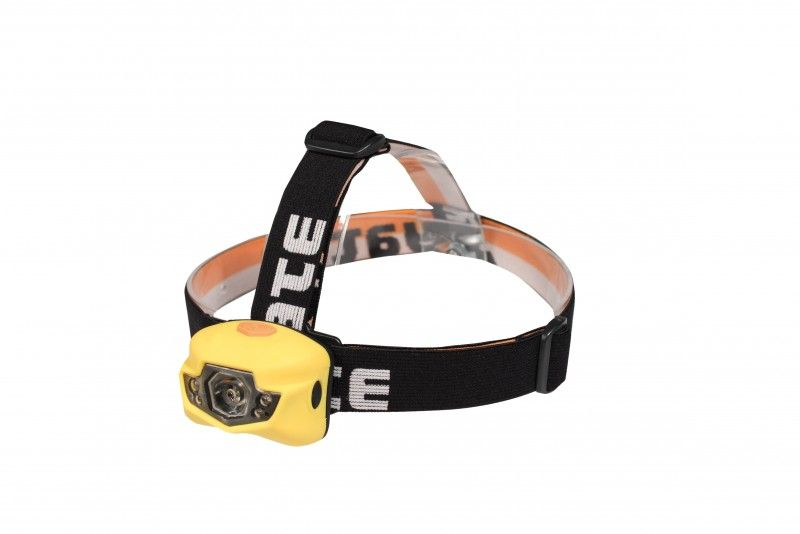 Čelová svítilna Yate 3W CREE+2 LED