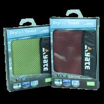Yate rychleschnoucí ručník L zelený