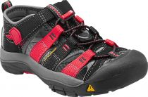 KEEN Newport H2 Junior Black/Racing red multi