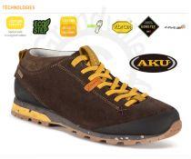 AKU Bellamont Suede GTX Dark brown / Yellow