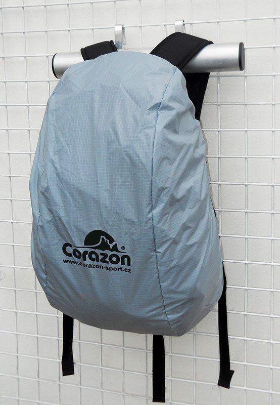 Corazon pláštěnka na batohy 28-35 litrů PLÁŠTĚNKA STŘEDNÍ šedá