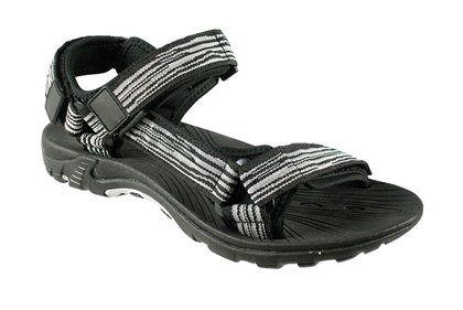 Sandály Sprandi Drift SS1123602 černá / šedá
