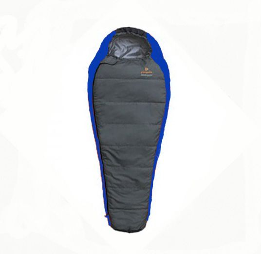 Spacák Pinguin Comfort Junior modrý 150L