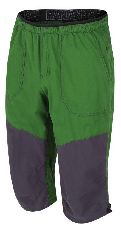 Hannah Hug 3/4 Treetop / Dark shadow Pánské 3/4 kalhoty
