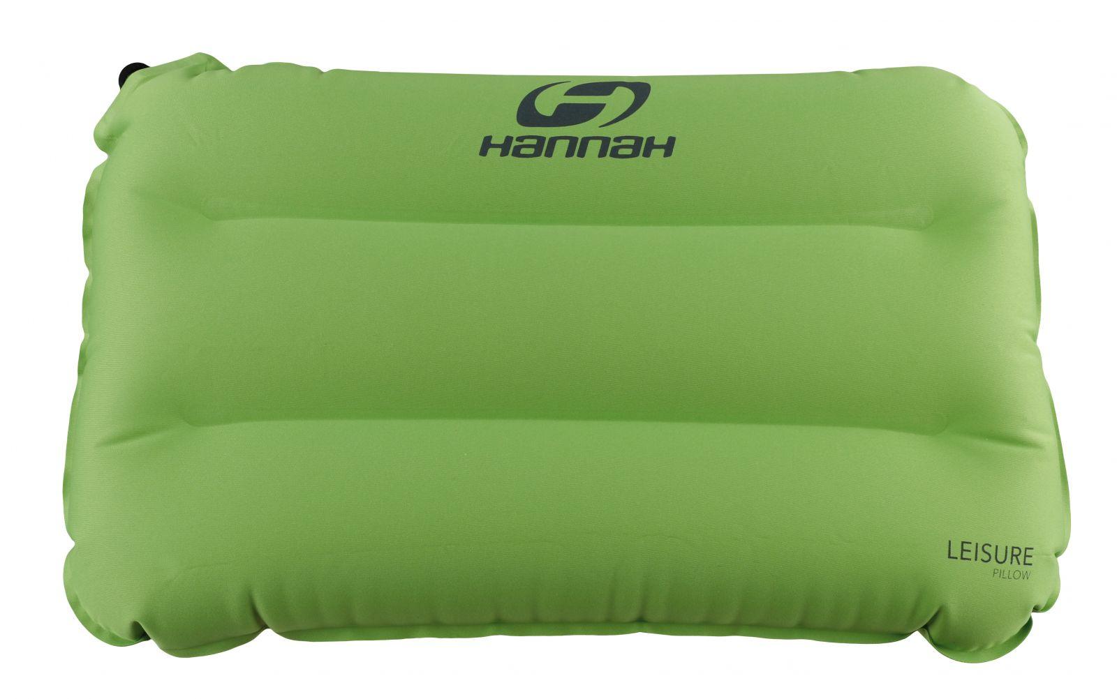 Hannah Pillow Parrot green cestovní polštářek