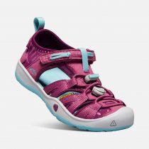 KEEN Moxie Sandal JR Red violet / Pastel turquoise