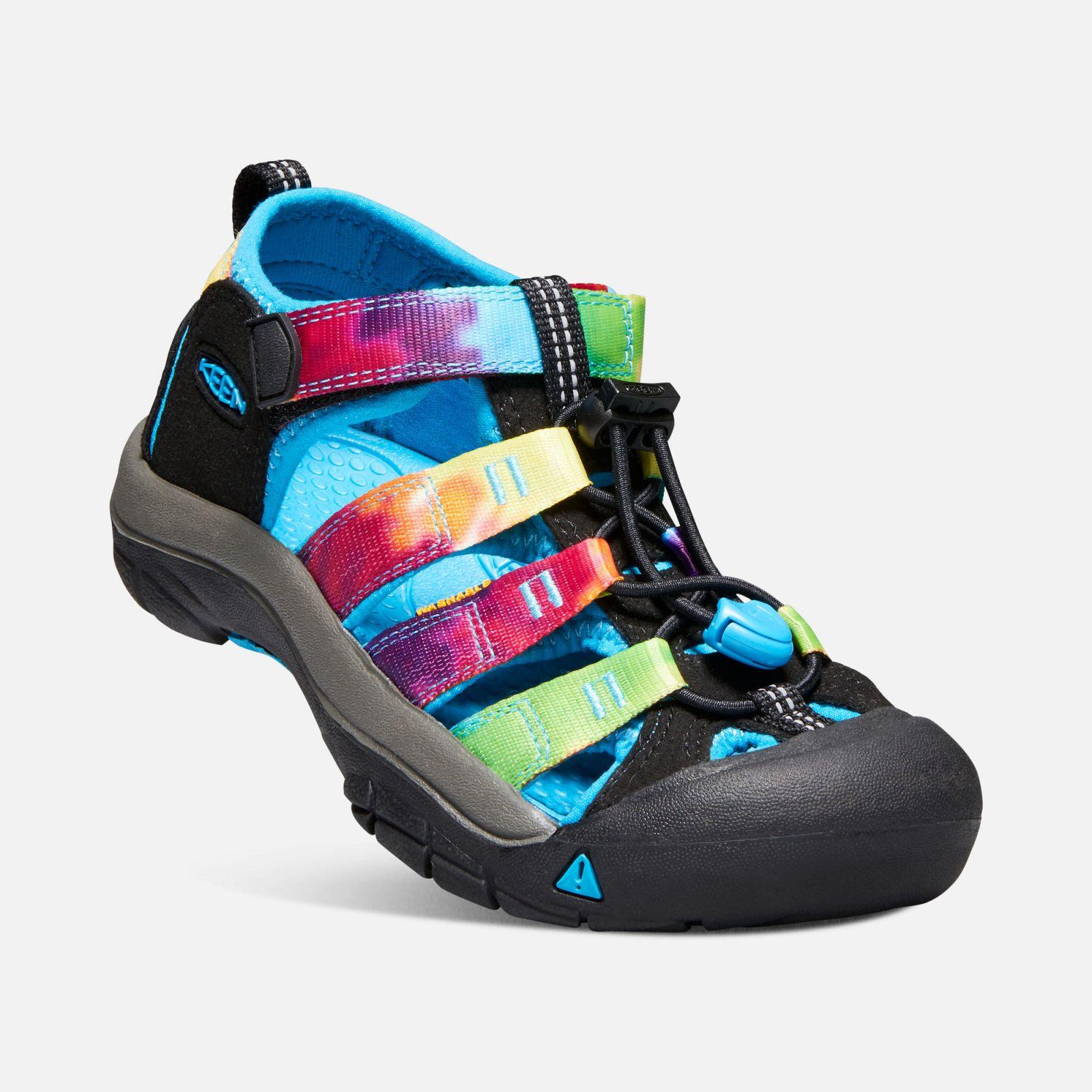 0513975fa7cc KEEN Newport H2 Junior Rainbow tie dye Dětský sandál