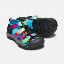 KEEN Newport H2 Junior Rainbow tie dye Dětský sandál