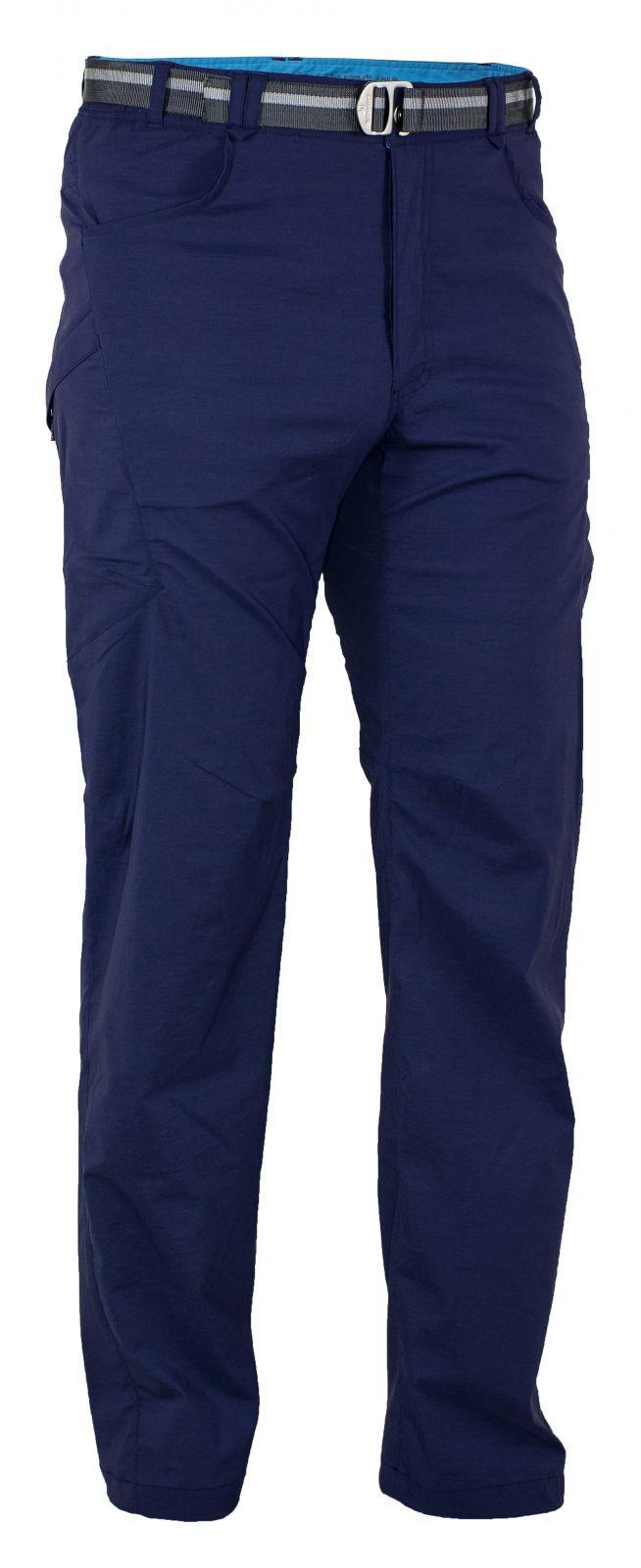 Warmpeace Flint Navy Pánské lehké kalhoty