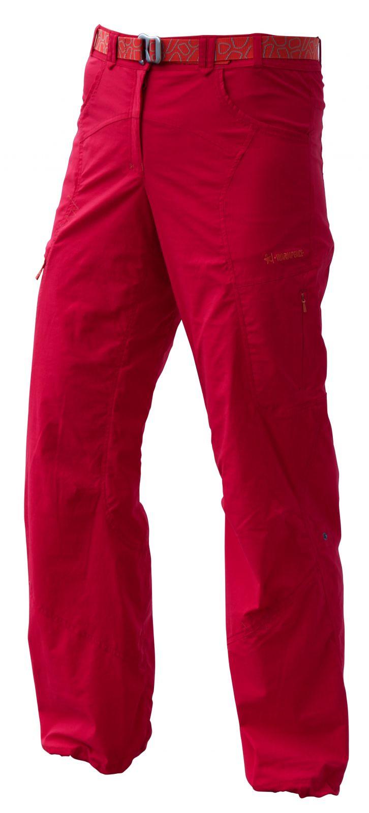 Warmpeace Muriel Lady Rose red dámské kalhoty