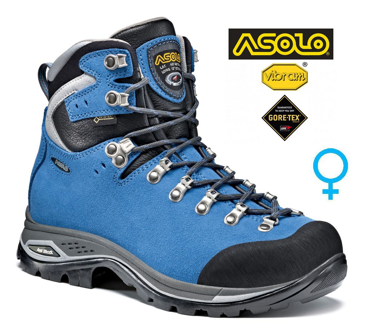 Asolo Greenwood GV ML woman celestial dámská treková bota