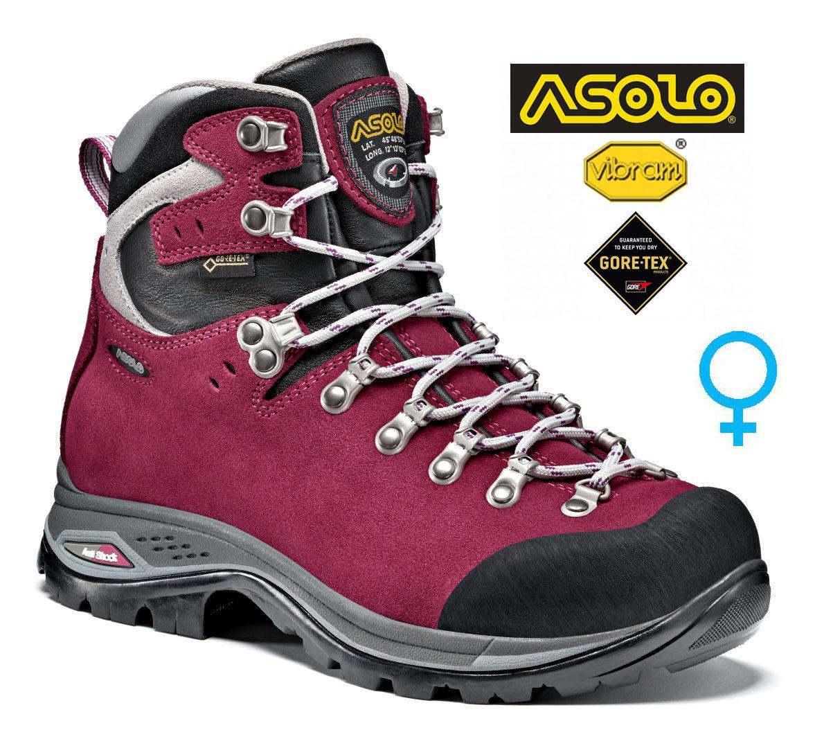 Asolo Greenwood GV ML woman grapeade dámská treková bota