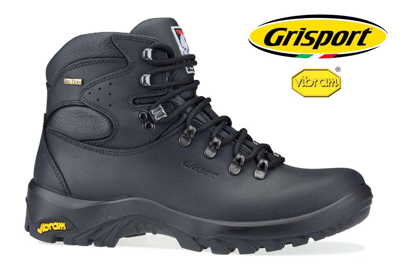 Grisport Trentino - 60 černá s membránou - 46