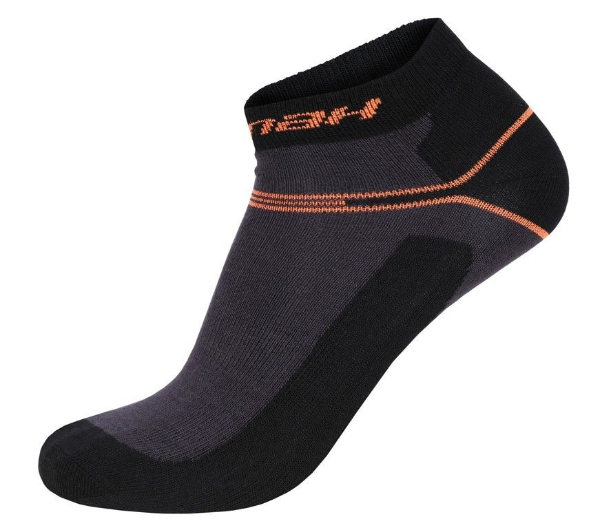 Hannah Bankle Antracite / Orange ponožky