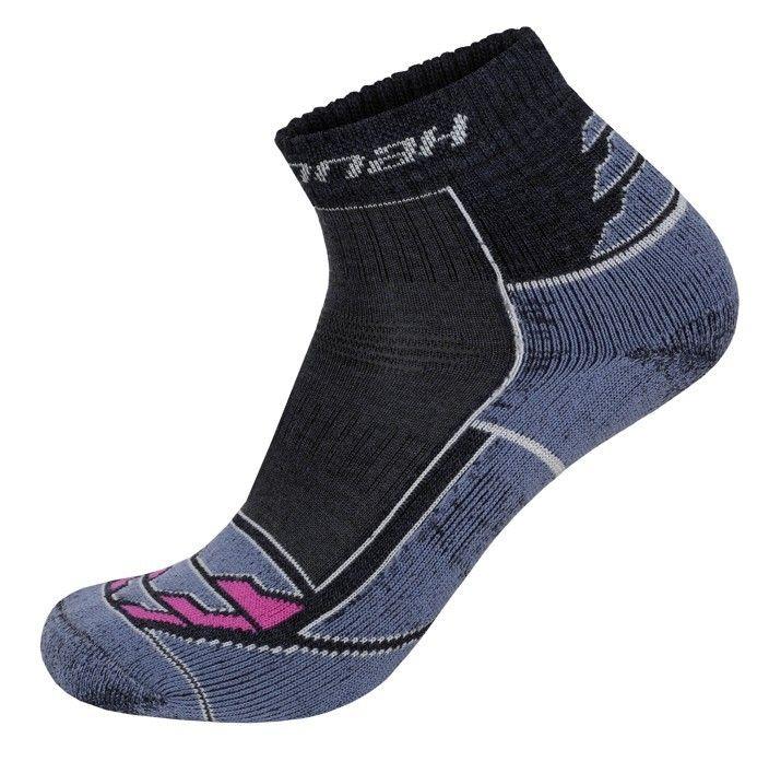 Hannah Walk Lite W Dark blue / Pink dámská ponožka