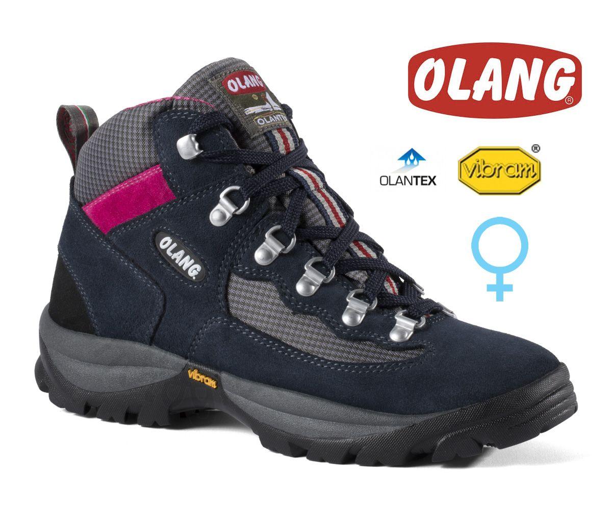 Olang Gottardo Blu dámská středně vysoká treková bota
