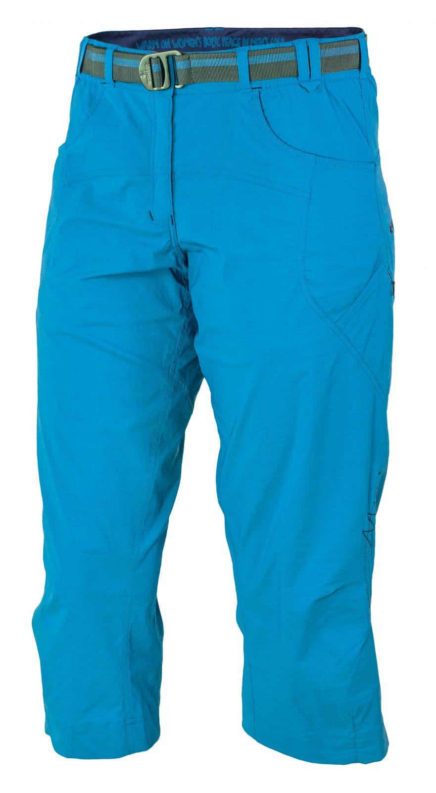 Warmpeace Flex 3/4 kalhoty smoke blue - L