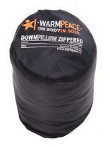 Warmpeace Péřový polštářek ZIP black