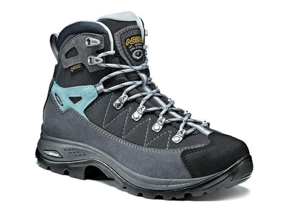 Asolo Finder GV ML grey/gunmetal/pool side dámská treková bota - 38