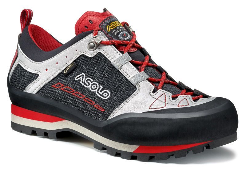 Asolo Freney Low GV MM black / silver pánské pevné boty na ferraty