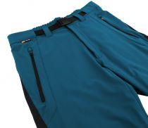 Hannah Gellert, moroccan blue / anthracite 3/4 kalhoty
