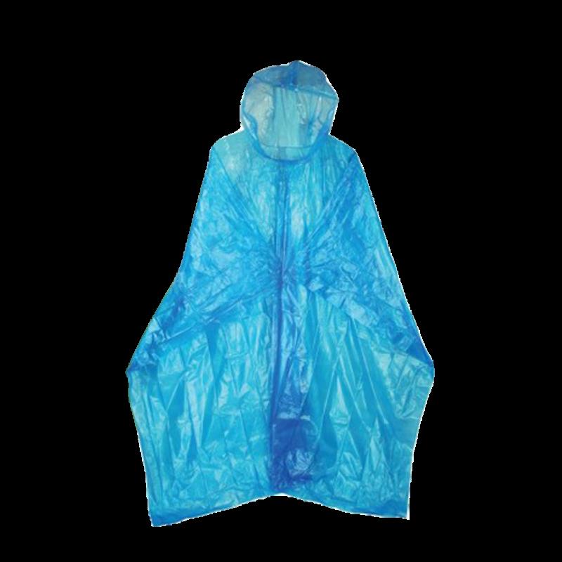 HIGHLANDER Pláštěnka Emergency LDPE pončo modré