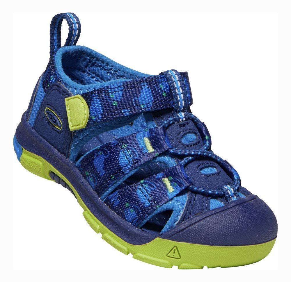 KEEN Newport H2 Junior Blue Depths / Chartreuse Dětský sandál
