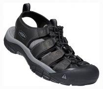 KEEN Newport Men Black / Steel Grey sandál do nepříznivých podmínek