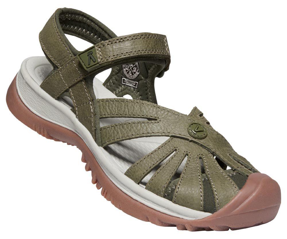 KEEN Rose Sandal W Forest Night Dámský kožený sandál