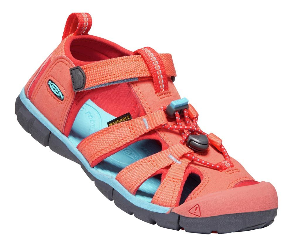 KEEN Seacamp ll CNX Coral / Poppy Red - 27/28