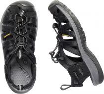 KEEN Whisper W Black / Magnet dámský sandál