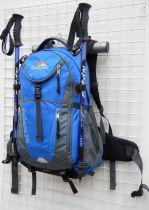 Batoh SAHARA 32 modrá + pouzdro na notebook Corazon