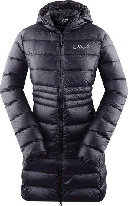 HANNAH LISBETH LADY dámský péřový kabát Black/graphite
