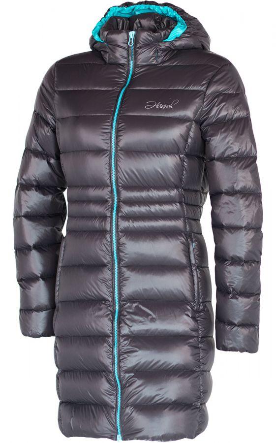 HANNAH LISBETH II LADY dámský péřový kabát Graphite/blue