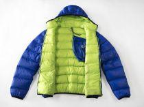 HANNAH MORAN HOODY MAN péřová bunda Blue/Green