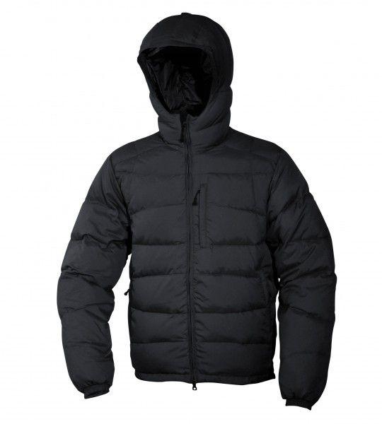 Warmpeace Ascent bunda péřová z materiálu Nylon DWR černá