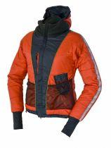 Warmpeace Calgary Lady dámské ultralehká zimní bunda antracit/redwood