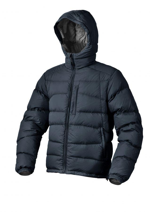Warmpeace Castor bunda péřová z materiálu Nylon DWR Black - černá