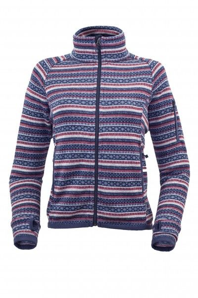 Warmpeace Norwega lady wine/blue - S