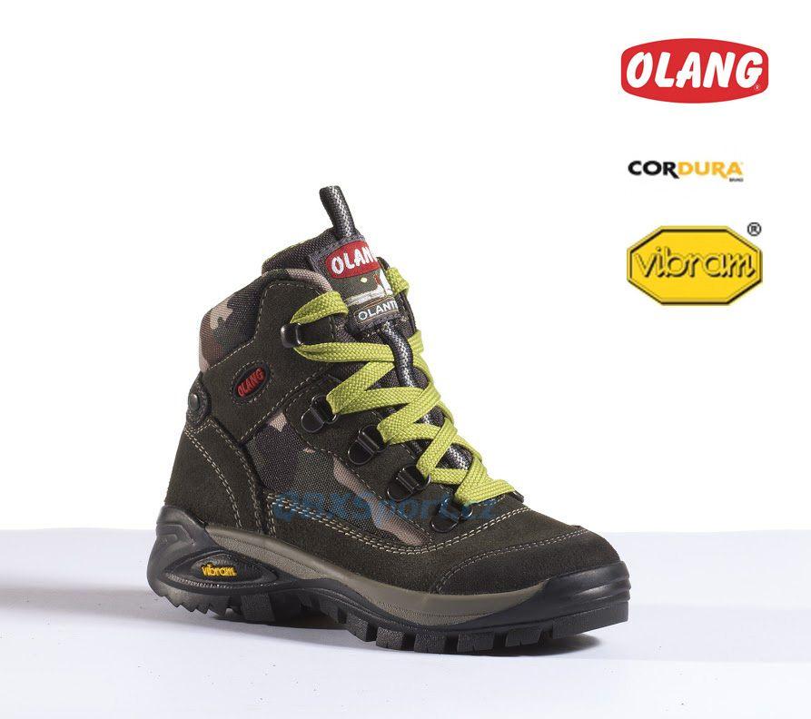 Dětská lesácká obuv Olang Udine Kid Muschio