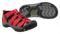 KEEN Newport H2 Junior Ribbon Red / Gargoyle