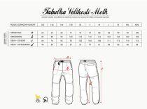 Rejoice Moth velikost XL - Lehké plátěné dlouhé kalhoty