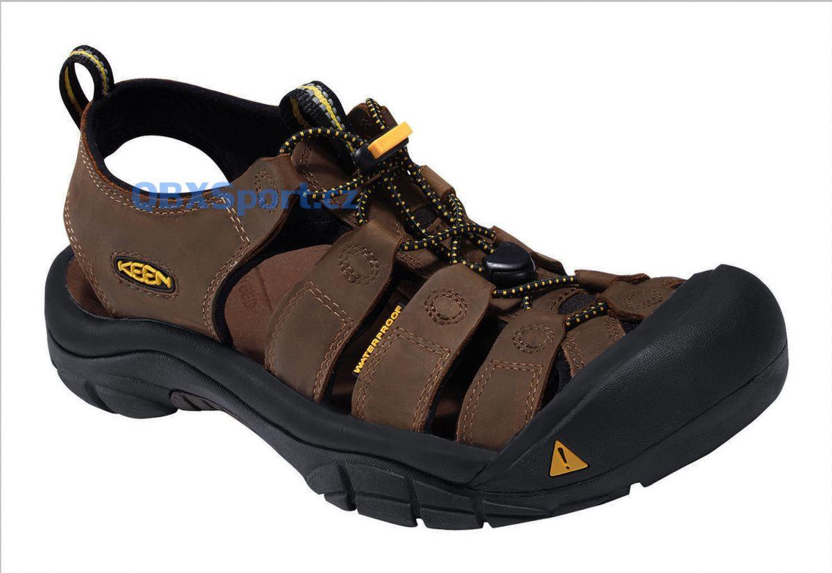 Lehké sandály KEEN Newport Men Bison